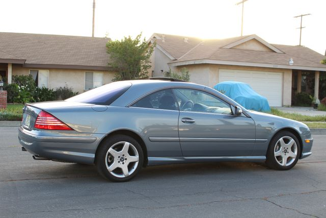 2004 Mercedes-Benz CL500 5.0L COUPE AUTOMATIC LEATHER XENON PARKING SENSORS Woodland Hills, CA 7