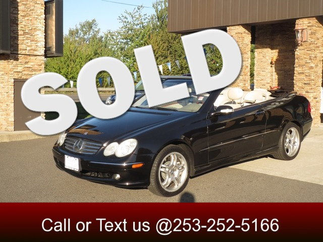 2004 Mercedes CLK500 Cabriolet 50L The CARFAX Buy Back Guarantee that comes with this vehicle mea