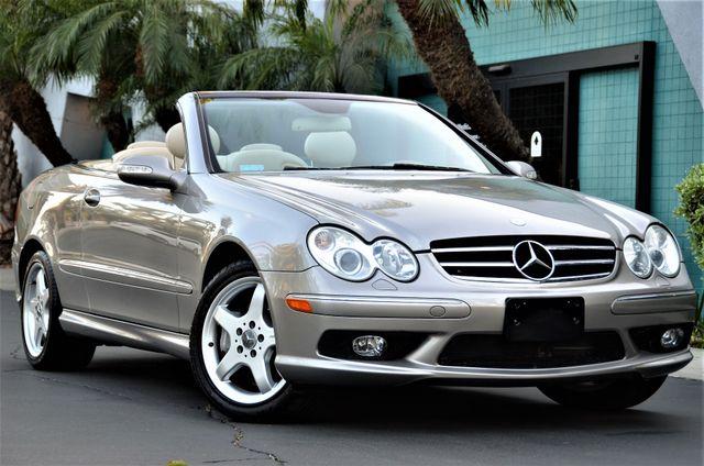 2004 Mercedes-Benz CLK500 Cabriolet 5.0L Reseda, CA 19