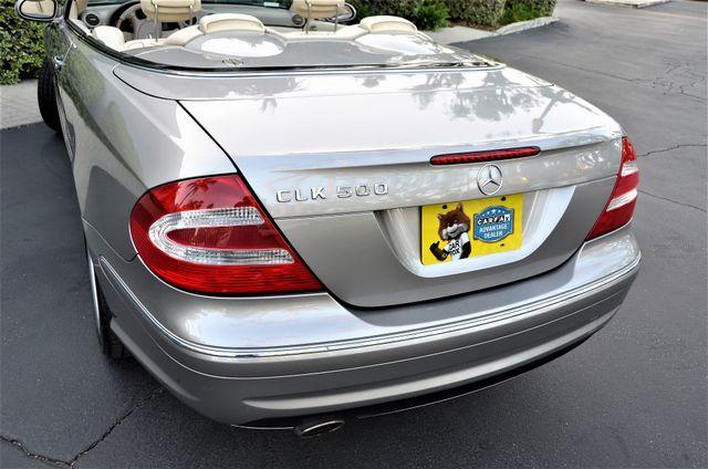 2004 Mercedes-Benz CLK500 Cabriolet 5.0L Reseda, CA 27