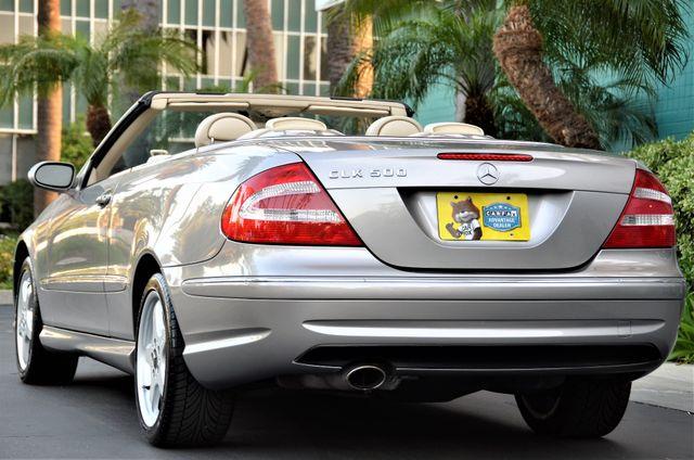 2004 Mercedes-Benz CLK500 Cabriolet 5.0L Reseda, CA 28