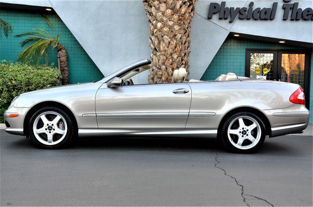 2004 Mercedes-Benz CLK500 Cabriolet 5.0L Reseda, CA 3