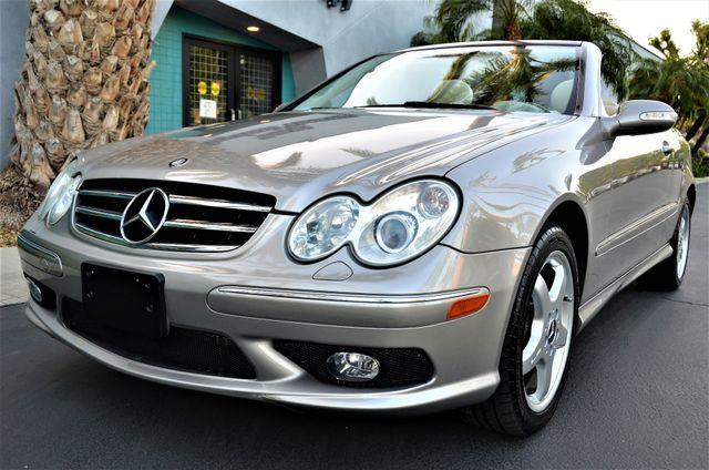 2004 Mercedes-Benz CLK500 Cabriolet 5.0L Reseda, CA 2