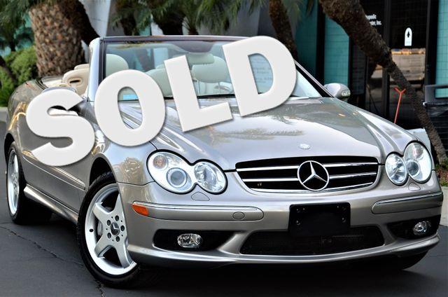 2004 Mercedes-Benz CLK500 Cabriolet 5.0L Reseda, CA 0
