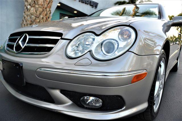 2004 Mercedes-Benz CLK500 Cabriolet 5.0L Reseda, CA 31