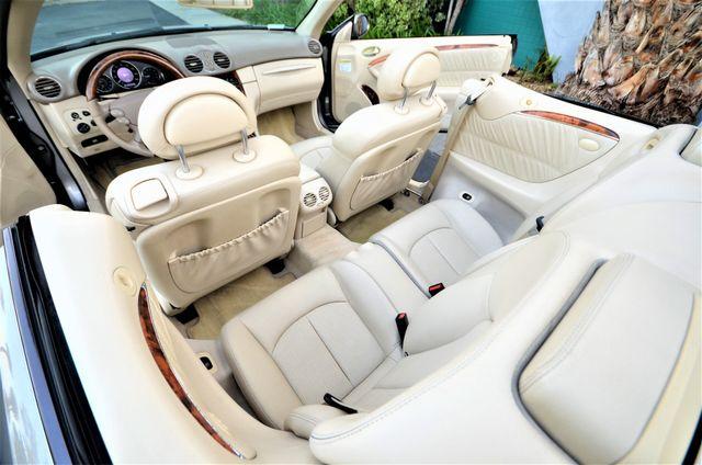 2004 Mercedes-Benz CLK500 Cabriolet 5.0L Reseda, CA 7