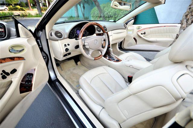 2004 Mercedes-Benz CLK500 Cabriolet 5.0L Reseda, CA 8