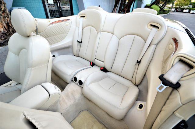 2004 Mercedes-Benz CLK500 Cabriolet 5.0L Reseda, CA 12