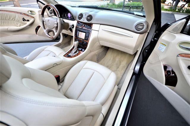 2004 Mercedes-Benz CLK500 Cabriolet 5.0L Reseda, CA 9