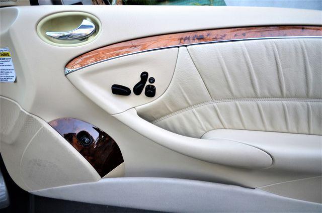2004 Mercedes-Benz CLK500 Cabriolet 5.0L Reseda, CA 37