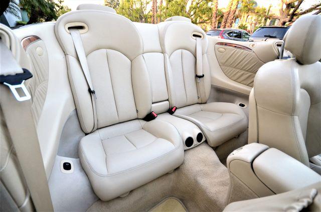 2004 Mercedes-Benz CLK500 Cabriolet 5.0L Reseda, CA 38