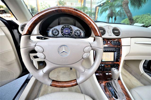 2004 Mercedes-Benz CLK500 Cabriolet 5.0L Reseda, CA 5