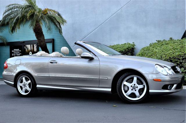 2004 Mercedes-Benz CLK500 Cabriolet 5.0L Reseda, CA 21