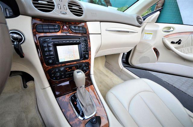 2004 Mercedes-Benz CLK500 Cabriolet 5.0L Reseda, CA 43
