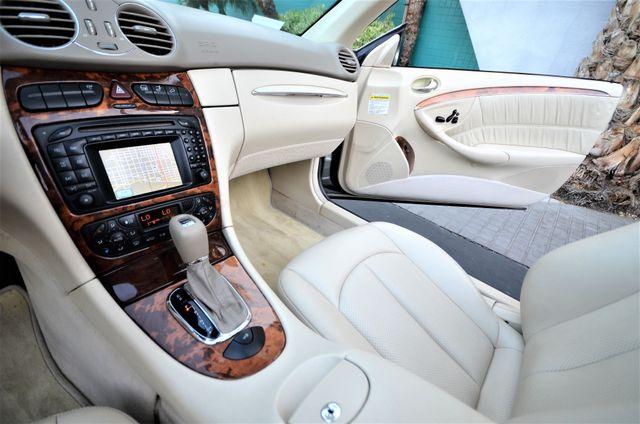 2004 Mercedes-Benz CLK500 Cabriolet 5.0L Reseda, CA 44