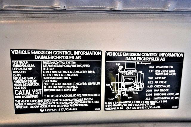 2004 Mercedes-Benz CLK500 Cabriolet 5.0L Reseda, CA 45