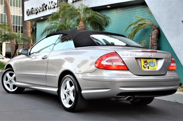 2004 Mercedes-Benz CLK500 Cabriolet 5.0L Reseda, CA 46