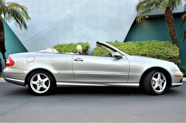 2004 Mercedes-Benz CLK500 Cabriolet 5.0L Reseda, CA 4