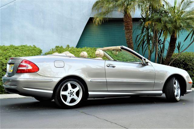 2004 Mercedes-Benz CLK500 Cabriolet 5.0L Reseda, CA 23