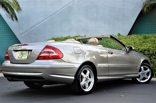 2004 Mercedes-Benz CLK500 Cabriolet 5.0L Reseda, CA 24