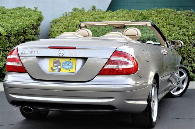 2004 Mercedes-Benz CLK500 Cabriolet 5.0L Reseda, CA 25
