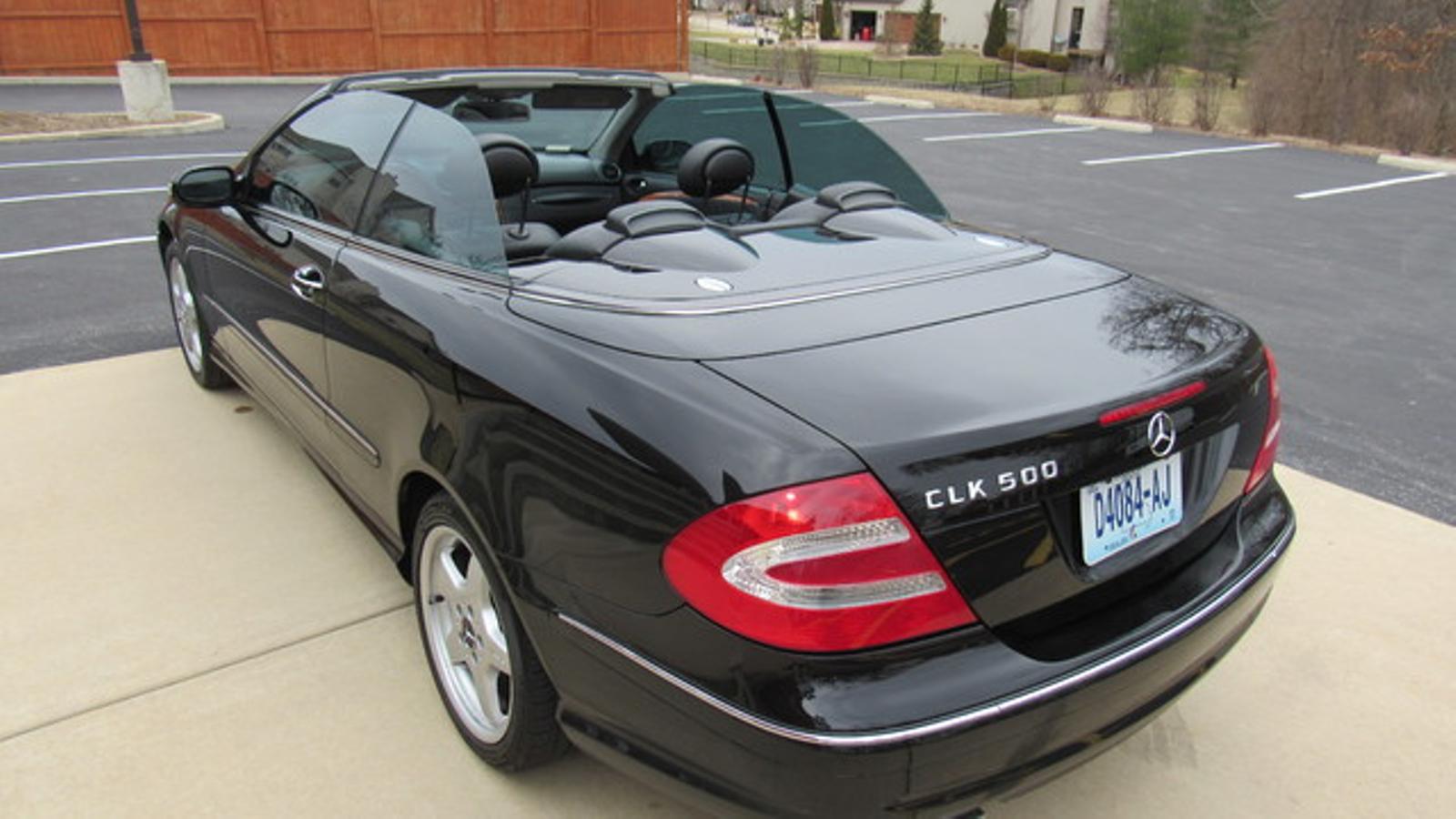 2004 MercedesBenz CLK500 Cabriolet 50L St Charles Missouri