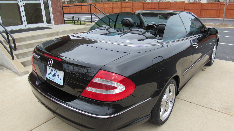2004 mercedes benz clk500 cabriolet 50l st charles. Black Bedroom Furniture Sets. Home Design Ideas
