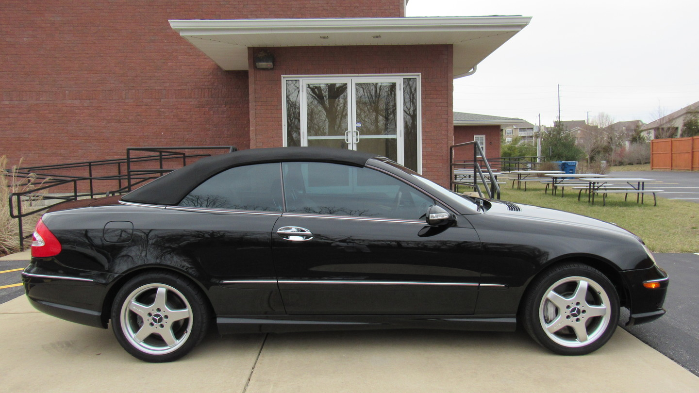 2004 mercedes benz clk500 cabriolet 50l st charles for St charles mercedes benz dealership