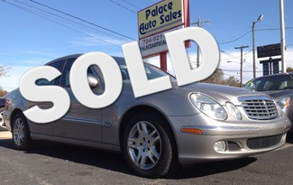2004 Mercedes-Benz E-CLASS 3.2L CHARLOTTE, North Carolina