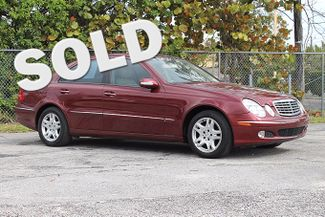 2004 Mercedes-Benz E320 3.2L Hollywood, Florida
