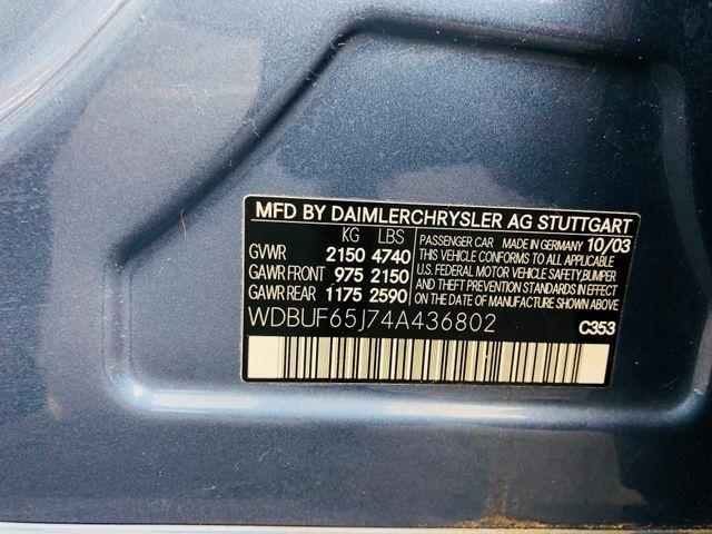 2004 Mercedes-Benz E320 3.2L Sterling, Virginia 34