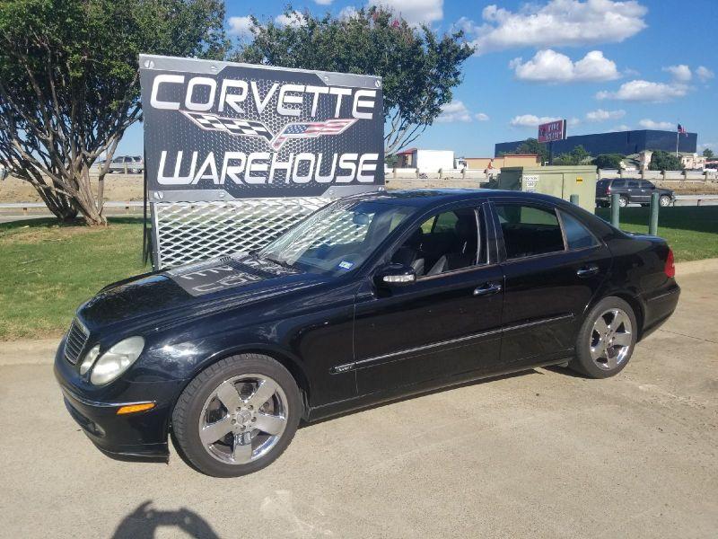 2004 Mercedes-Benz E500 Sedan 5.0L, Auto, Sunroof, NAV, Chrome Wheels! | Dallas, Texas | Corvette Warehouse