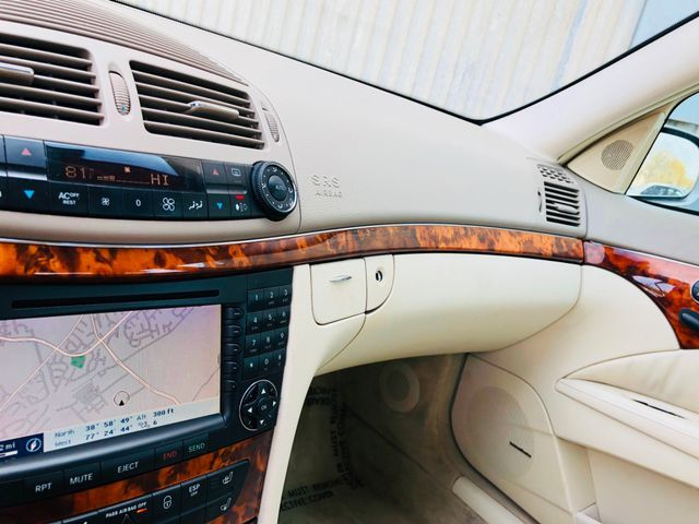 2004 Mercedes-Benz E500 5.0L Sterling, Virginia 34