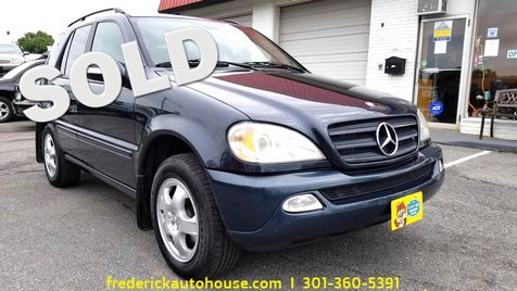 2004 Mercedes-Benz ML350 3.5L in Frederick, Maryland