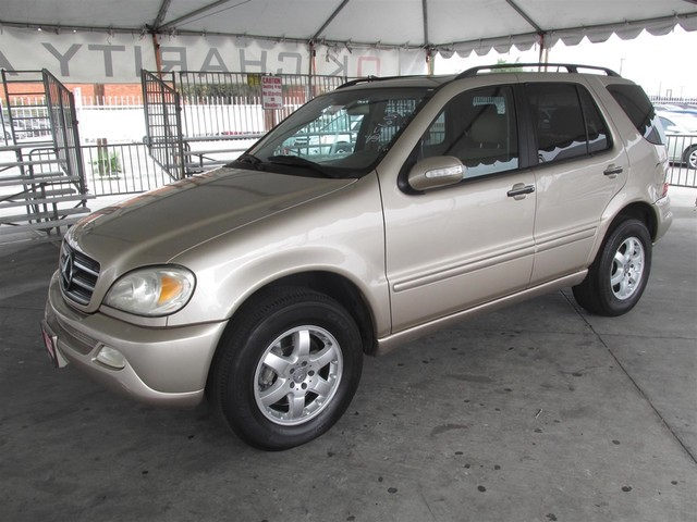 2004 Mercedes ML500 50L Please call or e-mail to check availability All of our vehicles are av