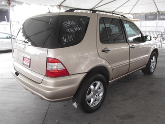 2004 Mercedes-Benz ML500 5.0L Gardena, California 2