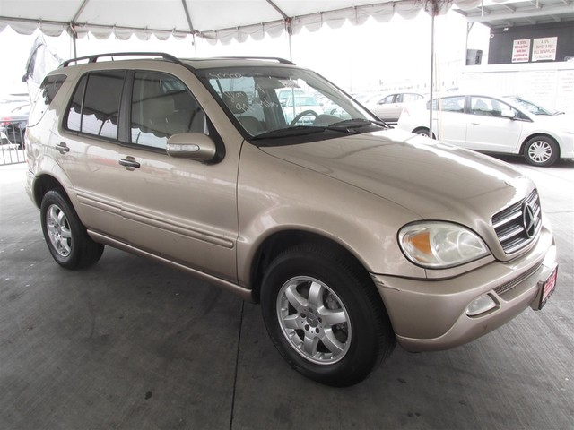 2004 mercedes ml500 5 0l cars and vehicles gardena ca for 2017 mercedes benz ml500 price