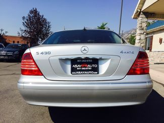2004 Mercedes-Benz S430 4.3L LINDON, UT 4
