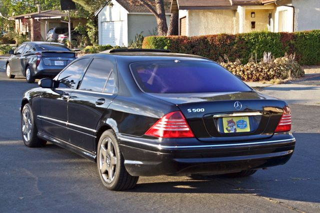 2004 Mercedes-Benz S500 5.0L AMG PKG AUTOMATIC  SERVICE RECORDS ALLOY WHLS XLNT CONDITION Woodland Hills, CA 3