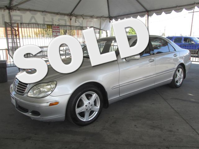 2004 Mercedes S500 50L Please call or e-mail to check availability All of our vehicles are ava