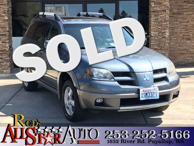 2004 Mitsubishi Outlander AWD The CARFAX Buy Back Guarantee that comes with this vehicle means tha