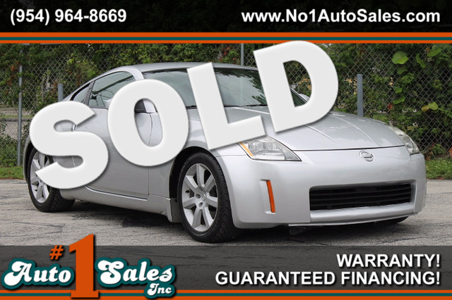 2004 Nissan 350Z Touring  WARRANTY CARFAX CERTIFIED AUTOCHECK CERTIFIED 3 OWNERS 10 SERVICE