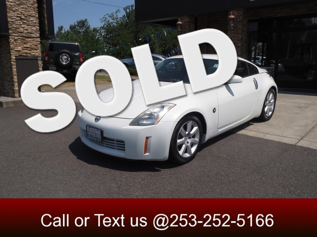 2004 Nissan 350Z Touring The CARFAX Buy Back Guarantee that comes with this vehicle means that you