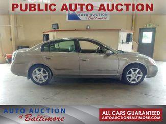 2004 Nissan Altima SE   JOPPA, MD   Auto Auction of Baltimore  in Joppa MD