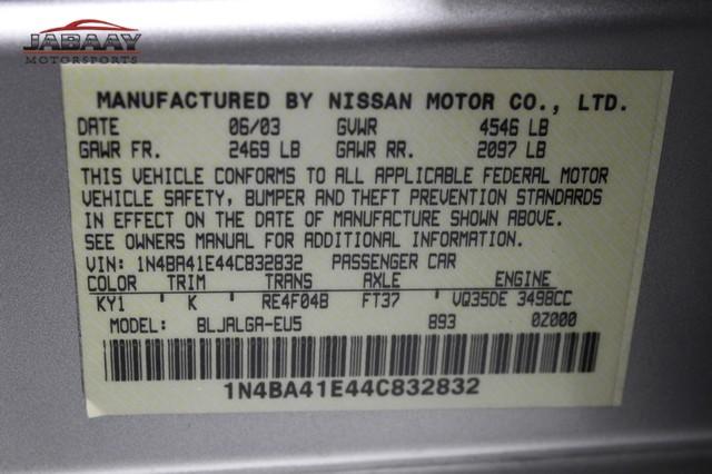 2004 Nissan Maxima SL Merrillville, Indiana 46