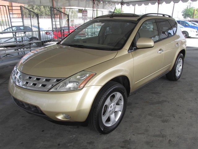 2004 Nissan Murano SL Please call or e-mail to check availability All of our vehicles are avail