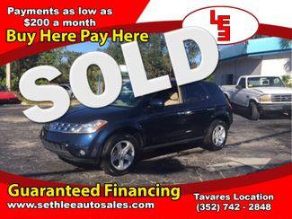 2004 Nissan Murano SL  city FL  Seth Lee Corp  in Tavares, FL