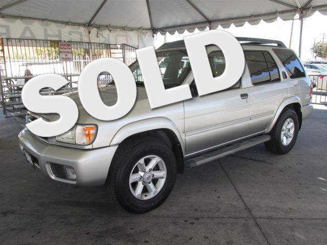 2004 Nissan Pathfinder SE Please call or e-mail to check availability All of our vehicles are a