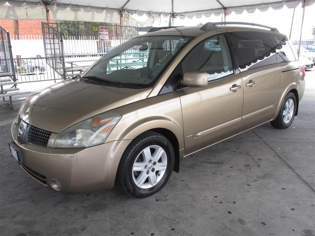 2004 Nissan Quest SL This particular Vehicle comes with 3rd Row Seat Please call or e-mail to che