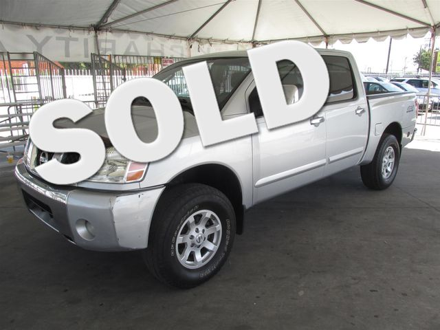 2004 Nissan Titan SE This particular Vehicles true mileage is unknown TMU Please call or e-mai